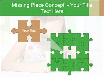 Cute little girl PowerPoint Templates - Slide 45