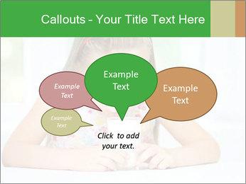 Cute little girl PowerPoint Templates - Slide 73