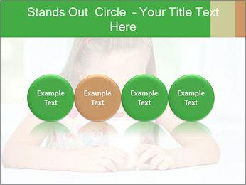 Cute little girl PowerPoint Templates - Slide 76