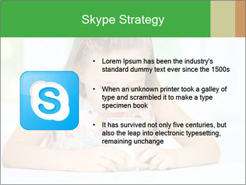 Cute little girl PowerPoint Templates - Slide 8