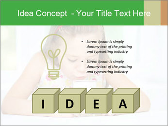 Cute little girl PowerPoint Templates - Slide 80