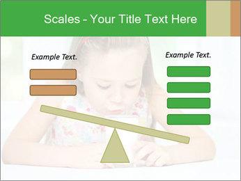 Cute little girl PowerPoint Templates - Slide 89