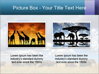 Elephants marching PowerPoint Templates - Slide 18