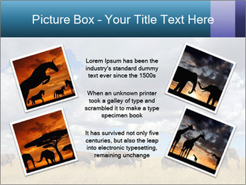 Elephants marching PowerPoint Templates - Slide 24