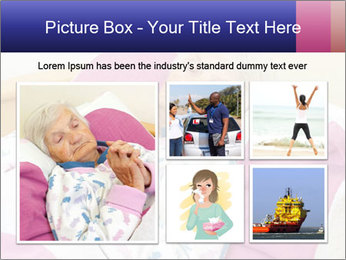 Elderly woman PowerPoint Template - Slide 19
