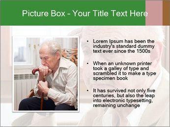 Sad old man sitting PowerPoint Templates - Slide 13