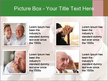 Sad old man sitting PowerPoint Templates - Slide 14