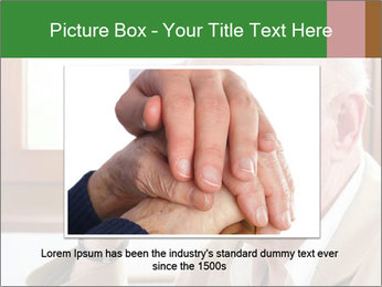 Sad old man sitting PowerPoint Templates - Slide 15