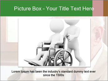 Sad old man sitting PowerPoint Templates - Slide 16