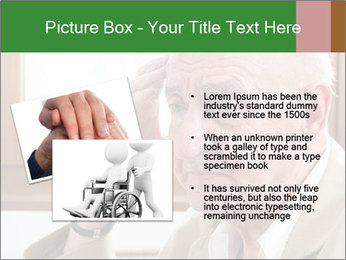 Sad old man sitting PowerPoint Templates - Slide 20