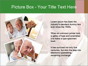 Sad old man sitting PowerPoint Templates - Slide 23