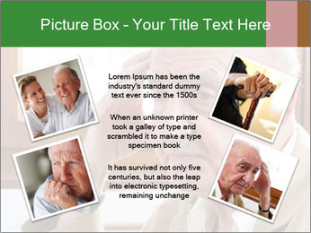 Sad old man sitting PowerPoint Templates - Slide 24