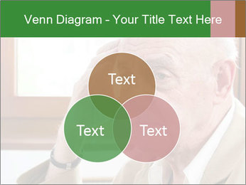 Sad old man sitting PowerPoint Templates - Slide 33