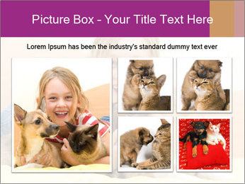 Laughing girl PowerPoint Template - Slide 19