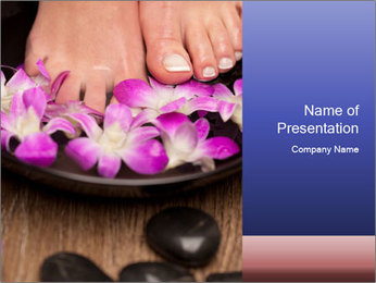 Feet PowerPoint Templates - Slide 1