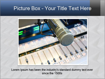 Recording studio sound PowerPoint Templates - Slide 15