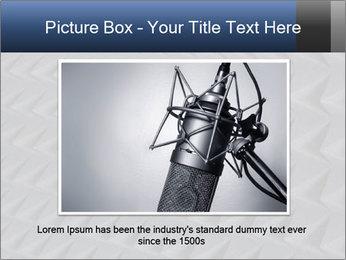Recording studio sound PowerPoint Templates - Slide 16