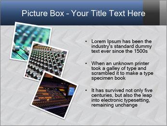 Recording studio sound PowerPoint Templates - Slide 17