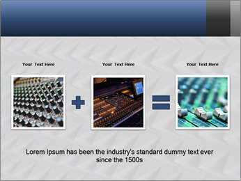Recording studio sound PowerPoint Templates - Slide 22