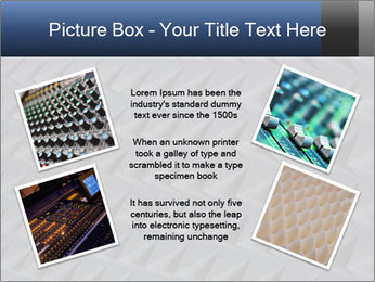 Recording studio sound PowerPoint Templates - Slide 24