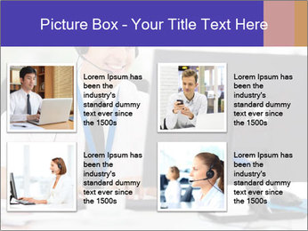Handsome technical support PowerPoint Templates - Slide 14