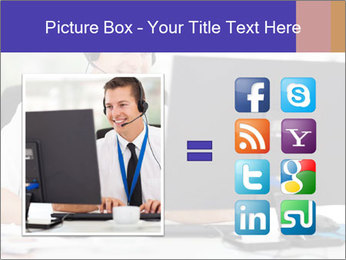 Handsome technical support PowerPoint Templates - Slide 21