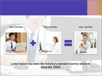 Handsome technical support PowerPoint Templates - Slide 22