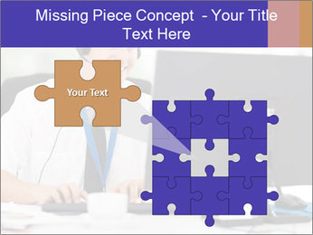 Handsome technical support PowerPoint Templates - Slide 45