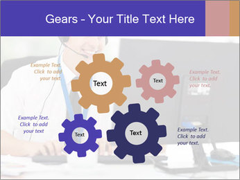Handsome technical support PowerPoint Templates - Slide 47