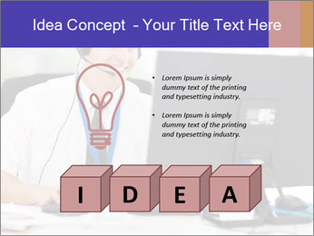 Handsome technical support PowerPoint Templates - Slide 80
