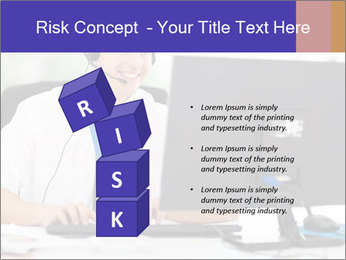Handsome technical support PowerPoint Templates - Slide 81