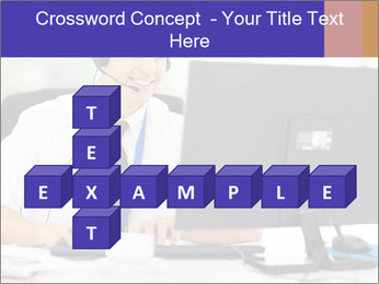 Handsome technical support PowerPoint Templates - Slide 82