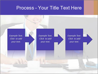 Handsome technical support PowerPoint Templates - Slide 88
