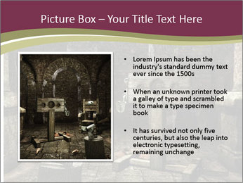 Medieval torture chamber PowerPoint Templates - Slide 13