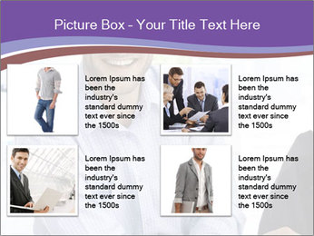 Happy mid-adult businessman PowerPoint Templates - Slide 14