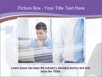 Happy mid-adult businessman PowerPoint Templates - Slide 15