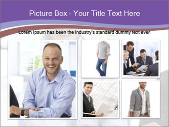 Happy mid-adult businessman PowerPoint Templates - Slide 19