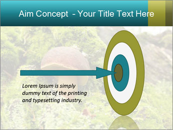 Fungus on a tree PowerPoint Template - Slide 83