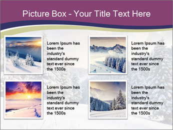 Fantastic evening winter PowerPoint Template - Slide 14