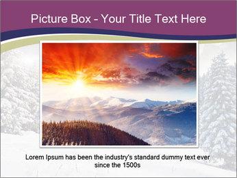 Fantastic evening winter PowerPoint Template - Slide 15