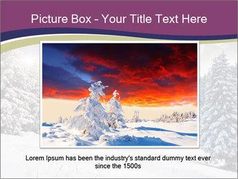 Fantastic evening winter PowerPoint Template - Slide 16