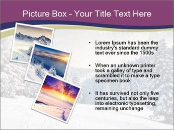 Fantastic evening winter PowerPoint Template - Slide 17