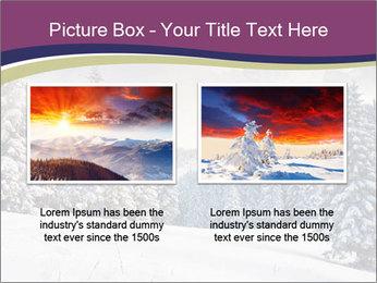 Fantastic evening winter PowerPoint Template - Slide 18