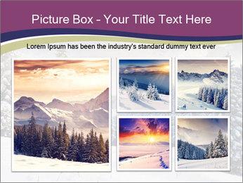 Fantastic evening winter PowerPoint Template - Slide 19