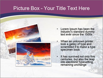 Fantastic evening winter PowerPoint Template - Slide 20