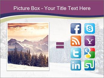 Fantastic evening winter PowerPoint Template - Slide 21