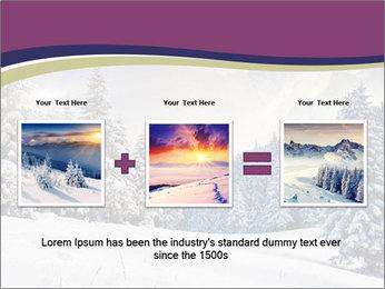 Fantastic evening winter PowerPoint Template - Slide 22
