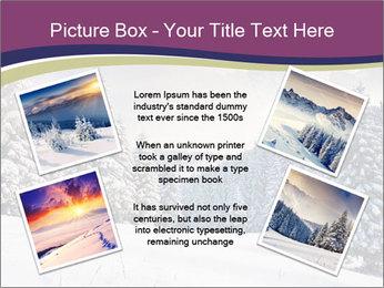 Fantastic evening winter PowerPoint Template - Slide 24