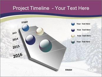 Fantastic evening winter PowerPoint Template - Slide 26