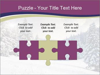 Fantastic evening winter PowerPoint Template - Slide 42
